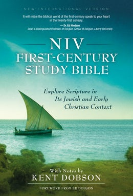NIV, First-Century Study Bible, Hardcover