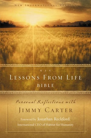 NIV, Lessons from Life Bible, Hardcover book image