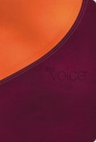 The Voice Bible, Leathersoft, Orange/Purple