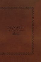 NIV, The Maxwell Leadership Bible, Hardcover, Brown