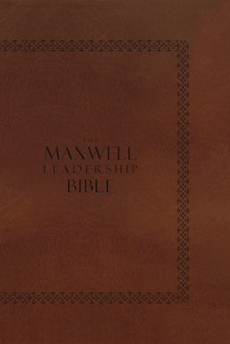 NIV, The Maxwell Leadership Bible, Hardcover, Brown
