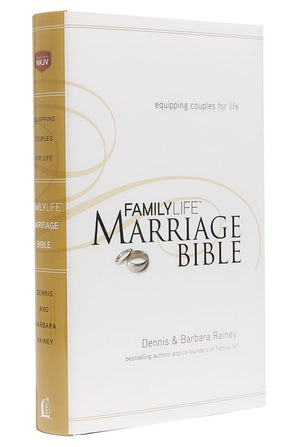 NKJV, FamilyLife Marriage Bible, Hardcover book image