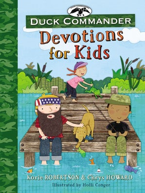 Duck Commander Devotions for Kids book image