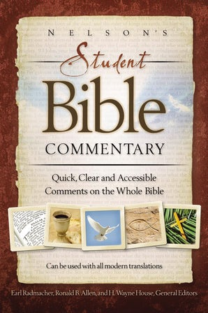 Nelson's Student Bible Commentary book image