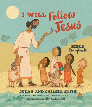 I Will Follow Jesus Bible Storybook book image
