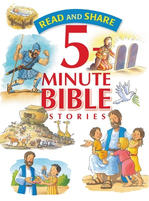 Read and Share 5-Minute Bible Stories book image
