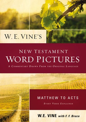 W. E. Vine's New Testament Word Pictures: Matthew to Acts book image