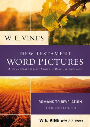 W. E. Vine's New Testament Word Pictures: Romans to Revelation book image