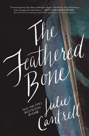 The Feathered Bone Paperback  by Julie Cantrell