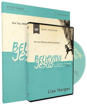 Believing Jesus Study Guide with DVD book image