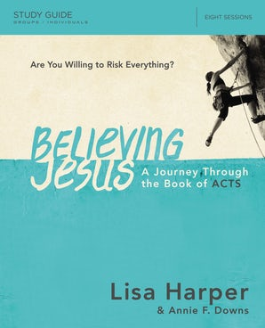Believing Jesus Study Guide book image