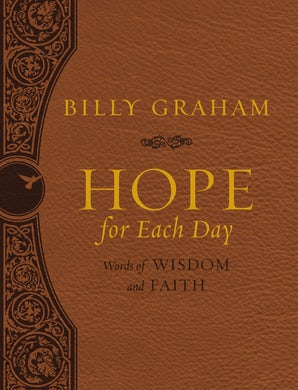 Hope for Each Day Large Deluxe book image