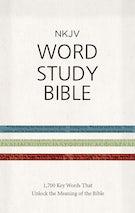 NKJV Word Study Bible, Hardcover