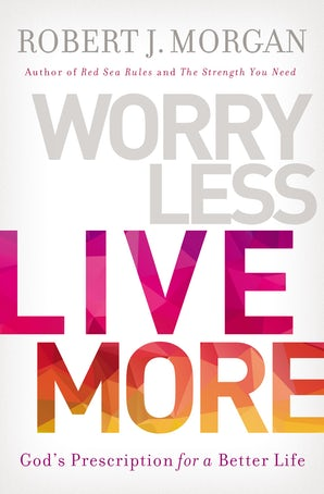 Worry Less, Live More book image