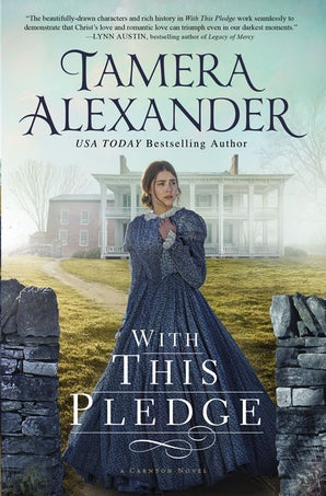 The With this Pledge Paperback  by Tamera Alexander