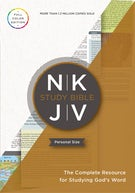 The NKJV Study Bible, Personal Size, Paperback, Red Letter, Full-Color Edition