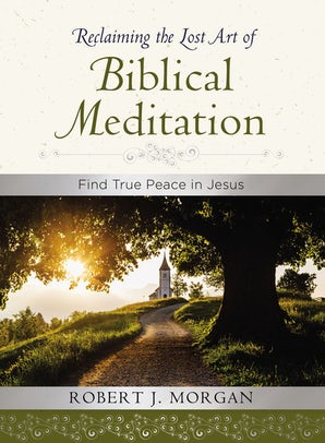 Reclaiming the Lost Art of Biblical Meditation book image