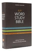 KJV, Word Study Bible, Hardcover, Red Letter Edition