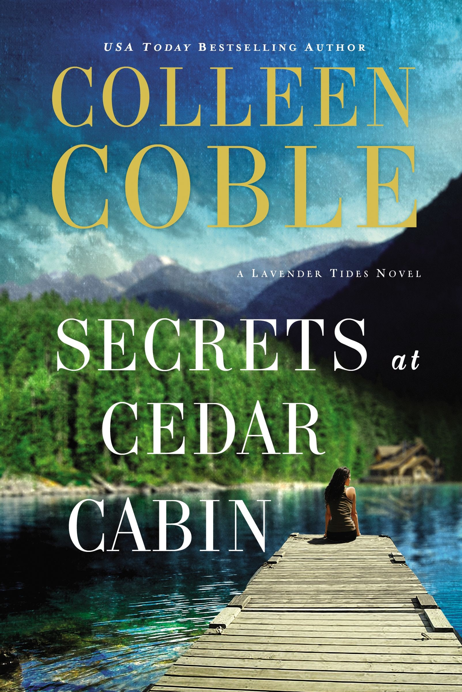 Book review of Secrets at Cedar Cabin by Colleen Coble (Thomas Nelson) by papertapepins