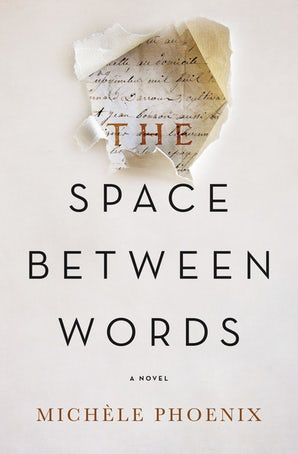 The Space Between Words Paperback  by Michele Phoenix