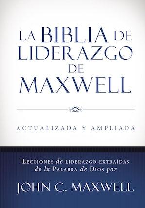 La Biblia de liderazgo de Maxwell RVR60- Tamaño manual Hardcover  by John C. Maxwell