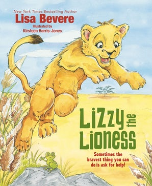 Lizzy the Lioness book image