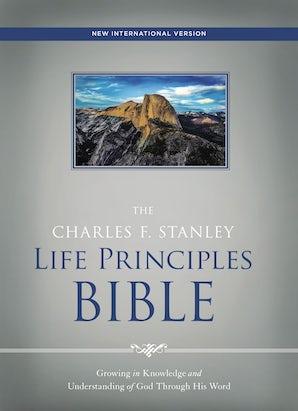 NIV, The Charles F. Stanley Life Principles Bible, Hardcover book image