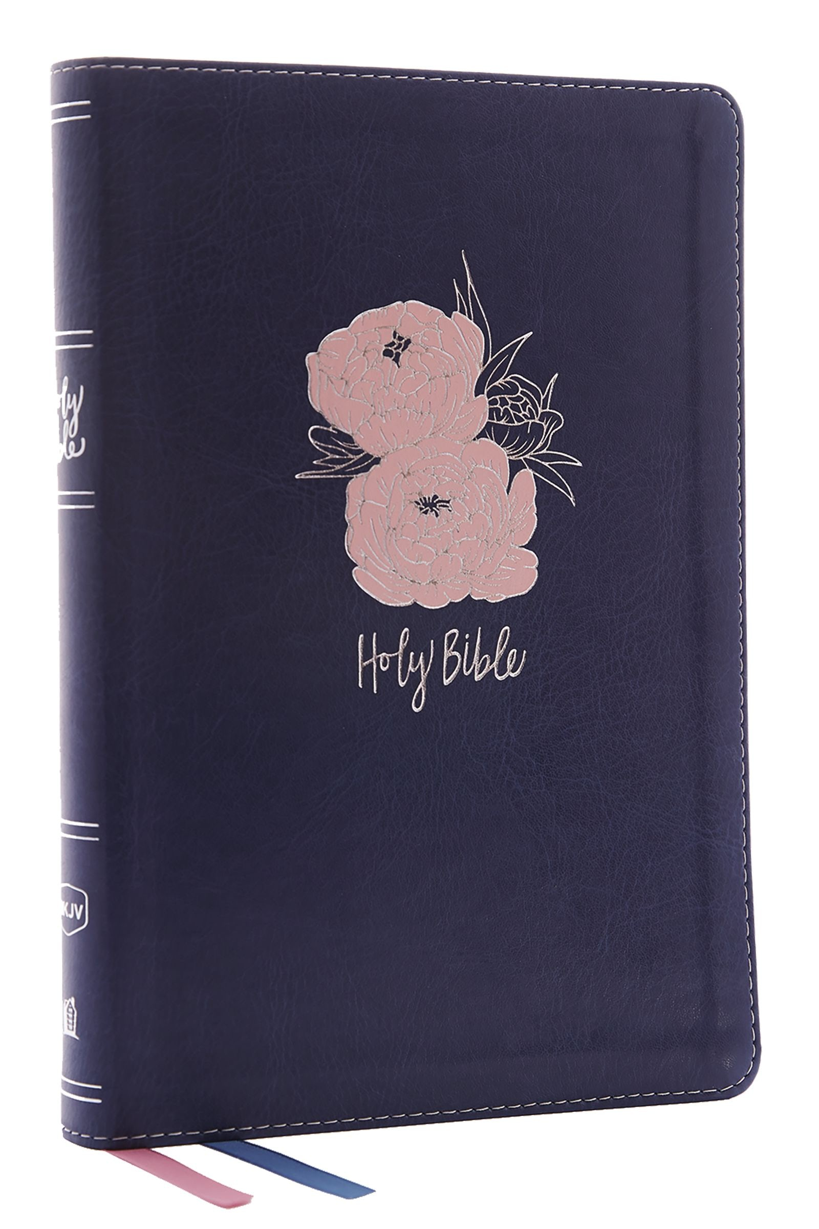 nkjv  thinline bible  large print  leathersoft  blue  pink  red letter edition  comfort print