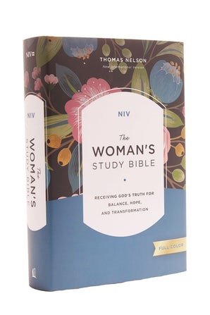 NIV, The Woman's Study Bible, Hardcover, Full-Color book image