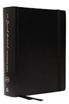 KJV, Journal the Word Reference Bible, Hardcover, Black, Red Letter Edition, Comfort Print