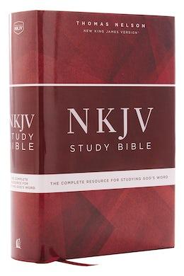 nkjv study bible hardcover comfort print
