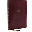 The KJV, Open Bible, Leathersoft, Burgundy, Red Letter Edition, Comfort Print