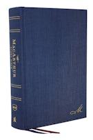 The NKJV, MacArthur Study Bible, 2nd Edition, Cloth over Board, Blue, Comfort Print