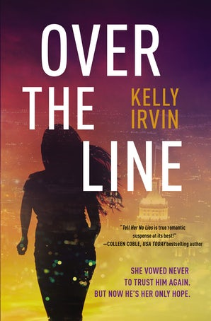 Over the Line Paperback  by Kelly Irvin