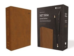 NET Bible, Journal Edition, Leathersoft, Brown, Comfort Print