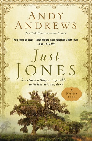 Just Jones Hardcover  by Andy Andrews