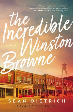 The Incredible Winston Browne Paperback  by Sean Dietrich