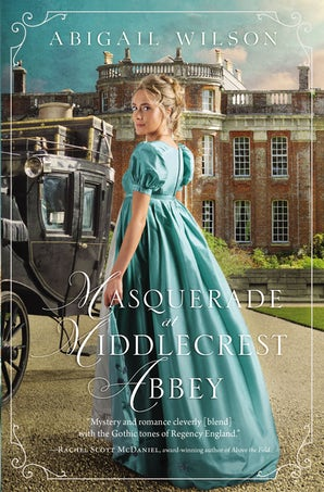 Masquerade at Middlecrest Abbey Paperback  by Abigail Wilson