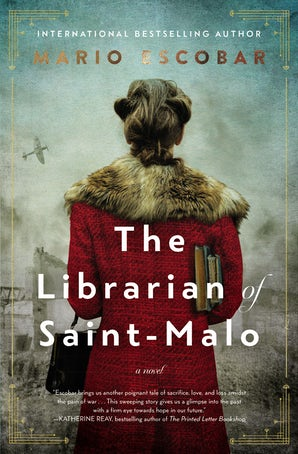 The Librarian of Saint-Malo Hardcover  by Mario Escobar