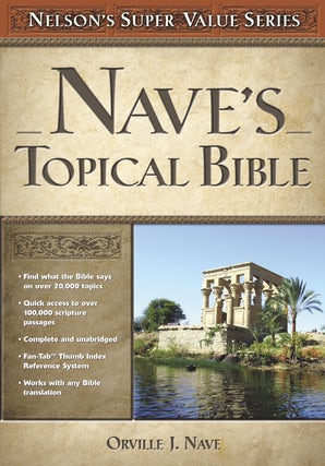 Nave's Topical Bible book image