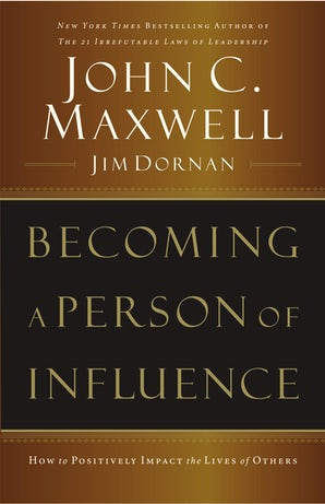 Becoming a Person of Influence book image