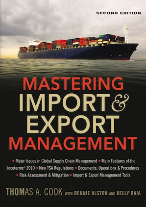 Mastering Import and   Export Management book image