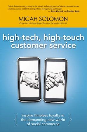 High-Tech, High-Touch Customer Service book image