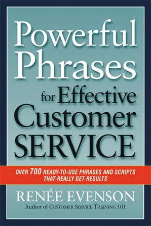 Powerful Phrases for Effective Customer Service book image