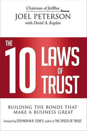 The 10 Laws of Trust book image