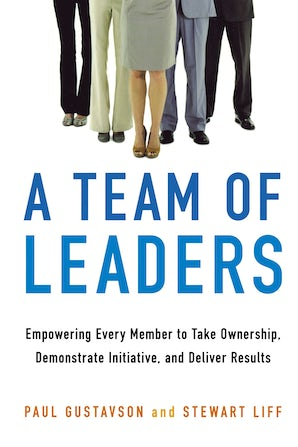 A Team of Leaders book image