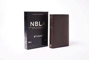 NBLA Biblia Ultrafina, Letra Grande, Colección Premier, Café Leather / fine binding