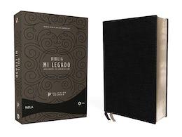NBLA Biblia Mi Legado, Colección Premier, Negro, Una Columna, Interior a dos colores