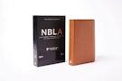 NBLA Biblia Ultrafina, Colección Premier, Caramelo