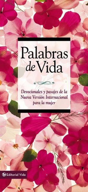 Palabras de vida para la mujer Hardcover  by Vida,